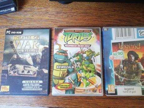Zestaw gier komputerowych, 6 gier dvd