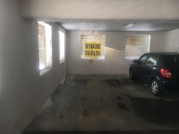 Wynajme miejsce Garażowe