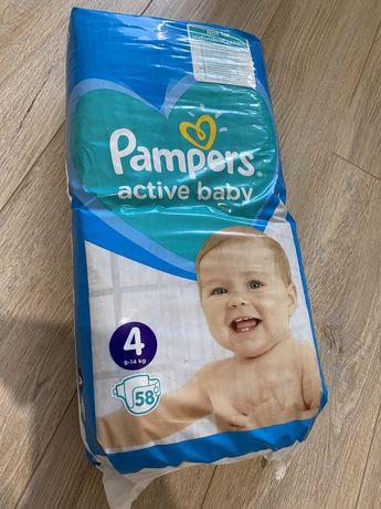 Продам Pampers 4 (58шт)