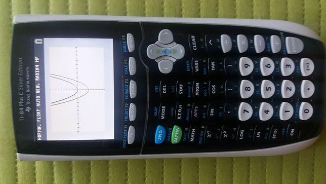 Calculadora Gráfica Cores TI-84 Plus C Silver Edition