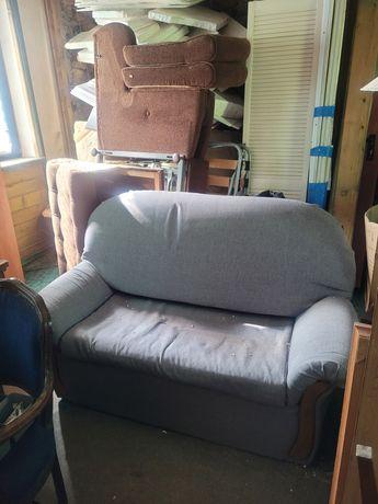 Oddam komplet - sofa 2-os. + 2 fotele