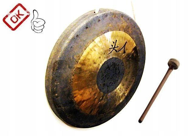 gong wuhan 35cm +bijak, ŁADNE BRZMIENIE, FAKTURA