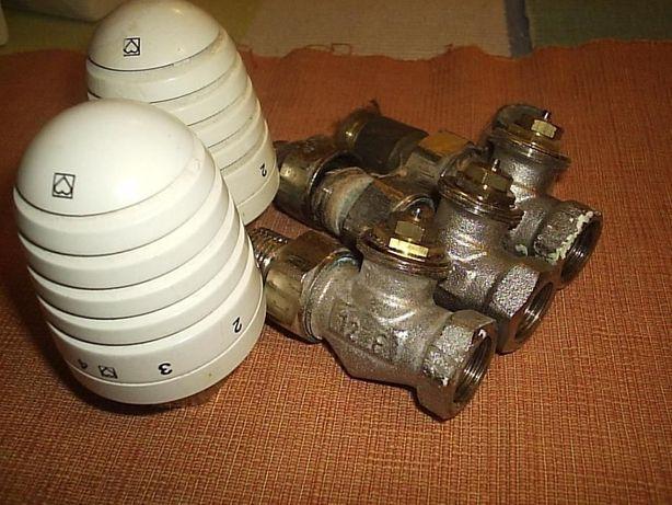 Herz, Heimeier 28 x1,5 głowica termostatyczna z zaworem kątowym 1/2