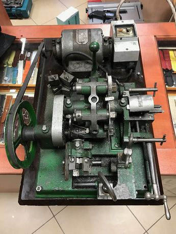 Maszyna do dorabiania kluczy zasuwowych Zabytkowa Kolekcjonerska