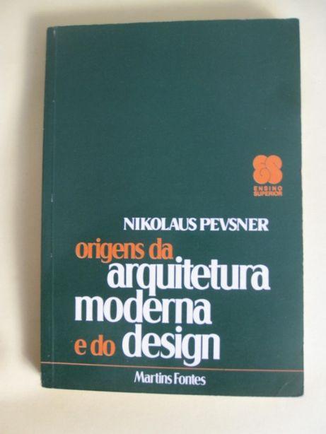 Origens da Arquitetura Moderna e Design de Nikolaus Pevsner