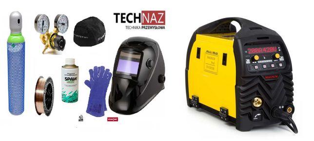 Spawarka migomat MAGNUM MIG 222 DUAL PULS 200 A Technaz Lublin