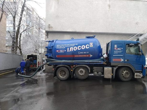 Срочная прочистка канализации Труб Ям Илосос Круглосуточно Вишневое