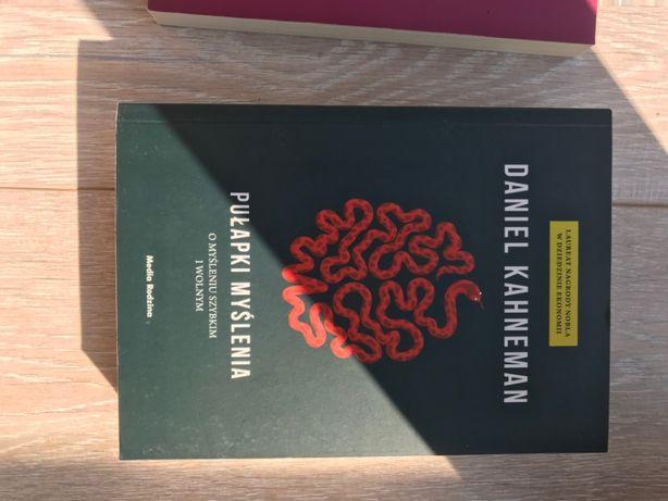 Książka Daniel Kahneman Pułapki myślenia
