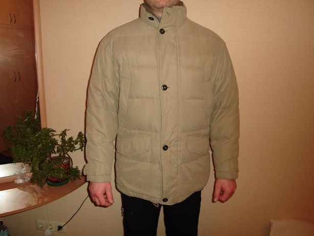 Зимняя куртка, мужской пуховик Far field, размер, XL 50% пух/50% перо