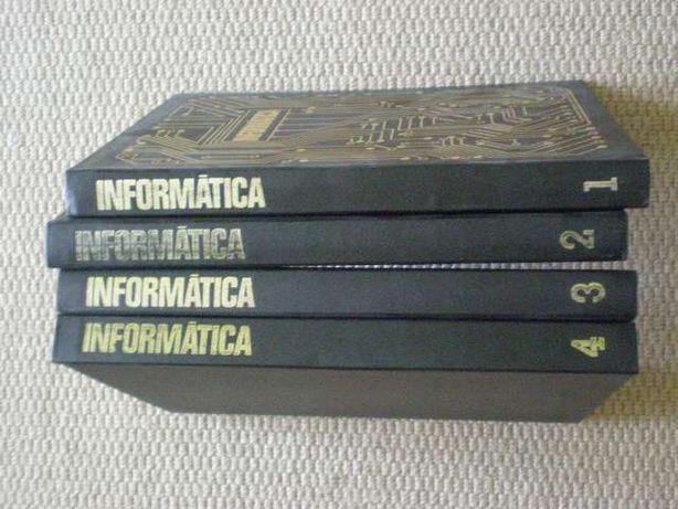 Informática Abril Cultural - 4 volumes 1060 páginas - ZX - TRS
