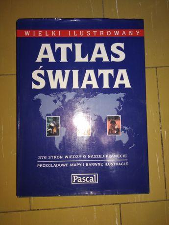 Wielki Atlas świata Pascal