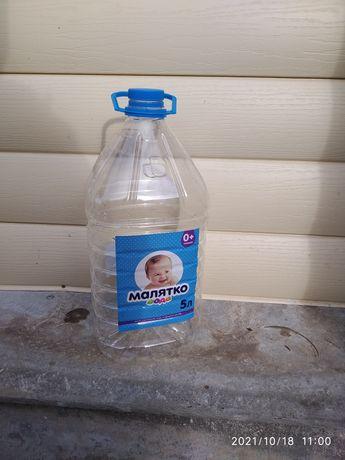 Бутыки 5-6 Ти литровые