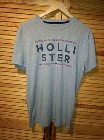 Koszulka T-shirt Hollister rozm. M kolor szary melanż