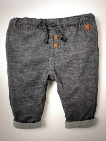 Spodnie ocieplane  HM dla chłopca rozm. 74