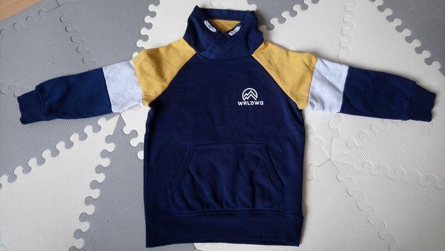 Ciepła bluza chłopięca HM r. 110