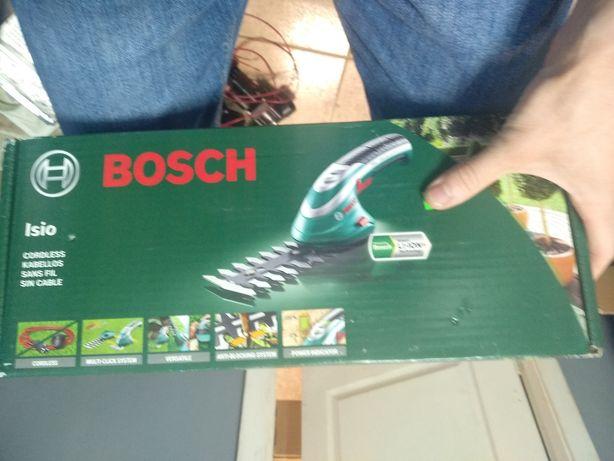 Кусторез аккумуляторный Ножницы Bosch Isio 3 Li-ion новый