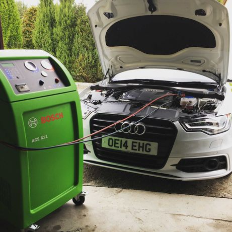 Uzupełnienie klimatyzacji samochodowej r1234yf nowy gaz ozonowanie