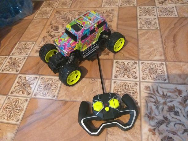 Jeep na pilota auto monstertruck działa super