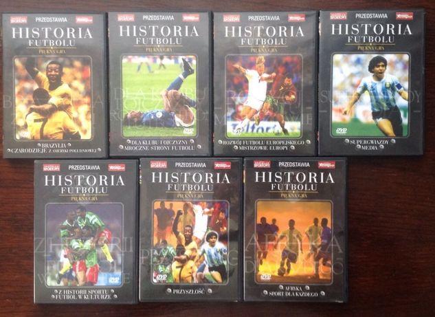 Historia futbolu - Piękna gra 7xDVD