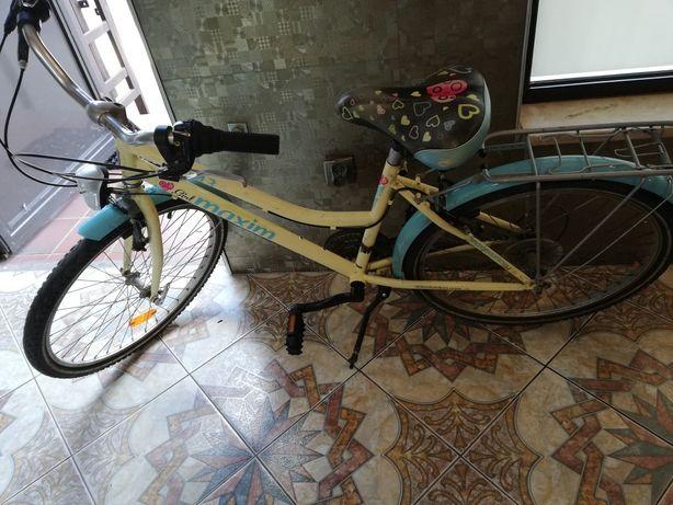 """Rower Dziecięcy Maxim Tomi 4.3 24"""" Shimano"""