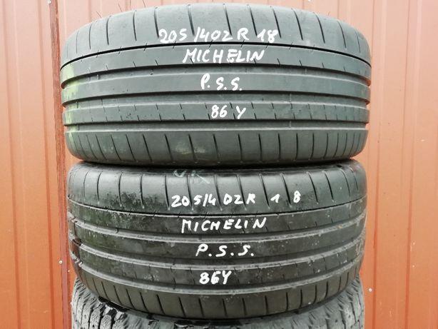 205/40 ZR18 86Y - Michelin Pilot Super Sport (1 sztuka)
