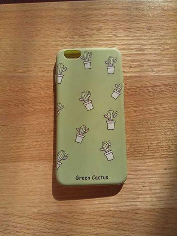 Iphone 6 Plus Case zielony w kaktusy okazja