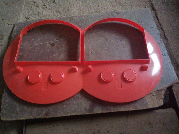 Automaty paszowe, tubomaty części pokrywa pojemnika paszy podwójnego