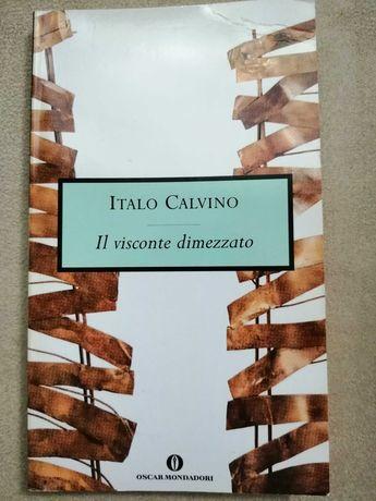Książka w języku włoskim Italo Calvino Il visconte dimezzato