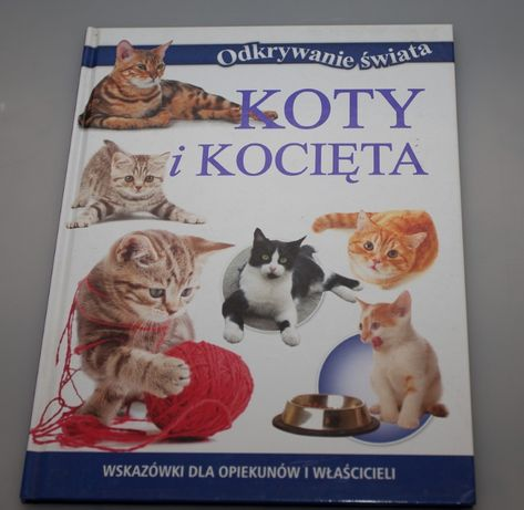 Książka Koty i kocięta