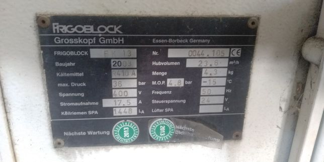 Agregat chlodniczy frigoblock fk13
