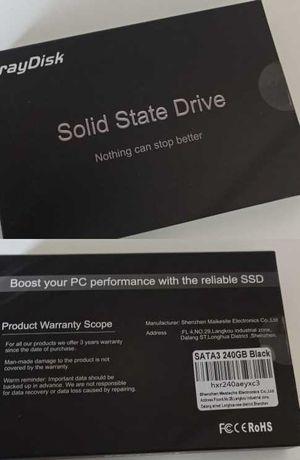 Disco SSD para o computador 120gb e 240gb NOVO
