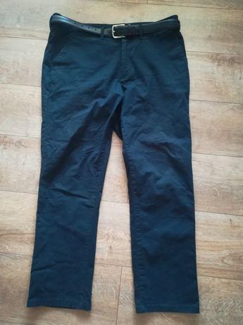 Nowe męskie spodnie materiałowe
