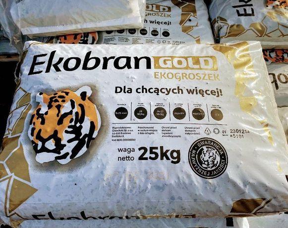 Ekogroszek EKOBRAN GOLD workowany 26-27MJ/kg