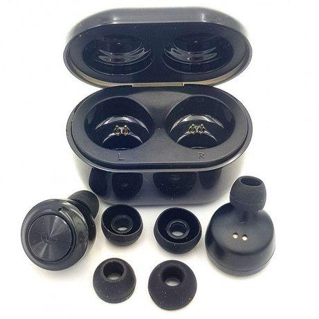 Беспроводные стерео наушники Air Twins A6 Bluetooth черные наушники