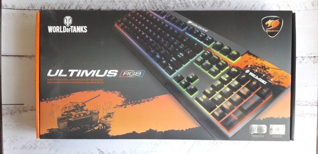 Клавіатура дротова Cougar Ultimus RGB USB World of Tanks