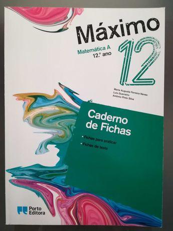 """Caderno de atividades """"Máximo 12"""""""