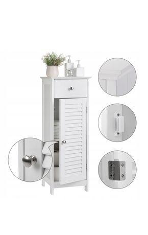 Szafka łazienka styl skandynawski biała stan idealny