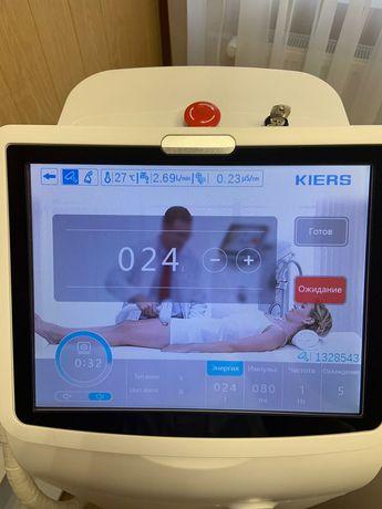 СРОЧНО! Диодный аппарат для лазерной эпиляции Kiers144 2019г.
