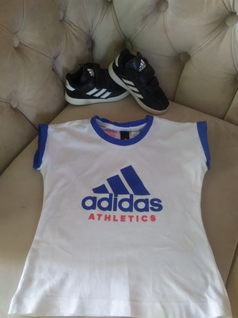 Продам фірмову футболку adidas для хлопчика