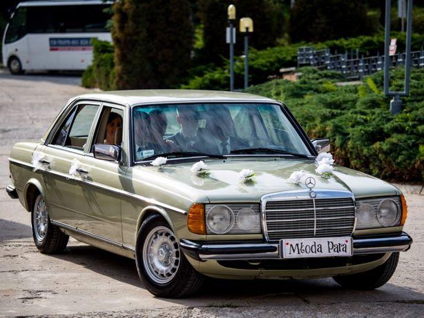 Rustykalne zabytkowe auto do ślubu Mercedes w123 Kraków,Kielce 800zł
