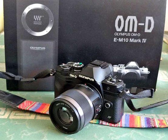 Olympus  OM-D E-M10 Mark IV  obiektyw+ gratisy!! Gwarancja