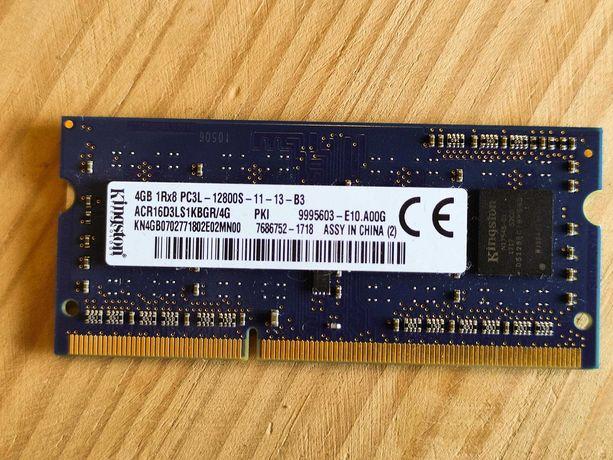 RAM Kingston 4GB DDR3L 1600MHz SODIMM