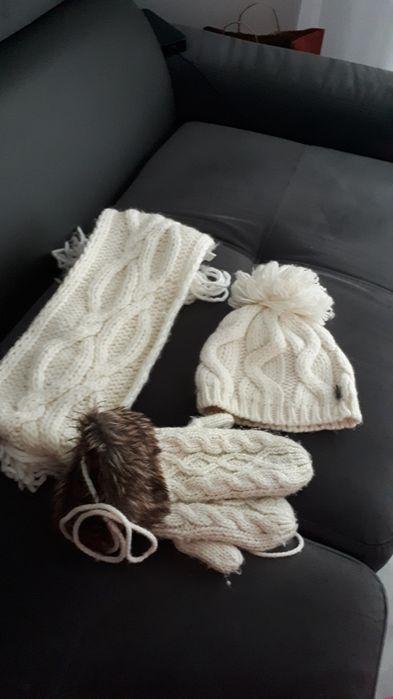 Czapka szalik rękawiczki os.dorosla Świdnica - image 1