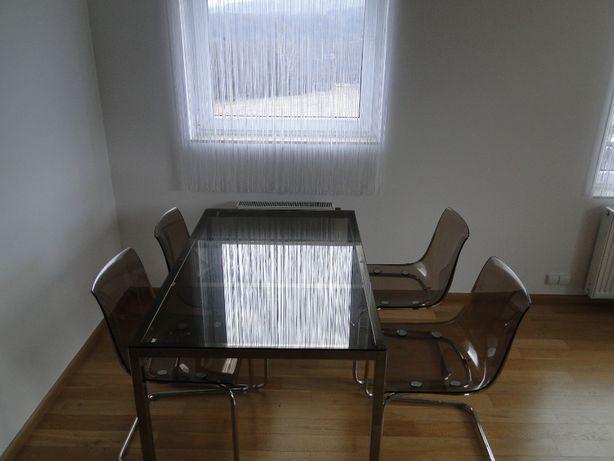 stół z 4 krzesłami Ikea Torsby