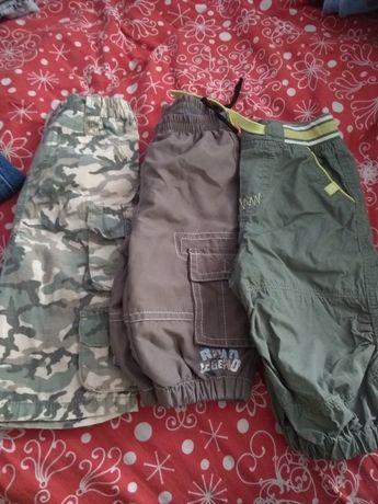 Spodnie niemowlęce/ bojówki 62-68