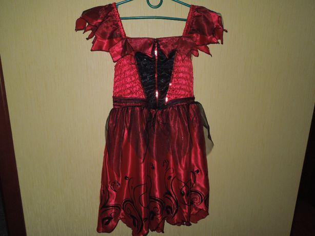 Платье дет. праздничное, нарядное, новогоднее.