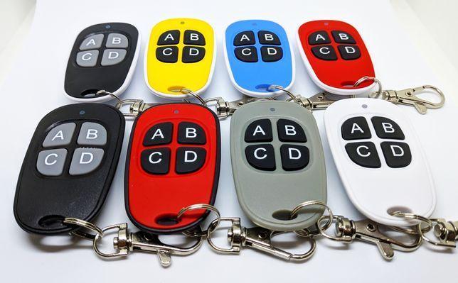 Comandos de portão de garagem - Código Fixo e Rolling Code - 433MHz