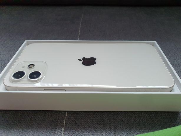iPhone 12 White 128 GB! NOWY! Gwarancja! Etui!