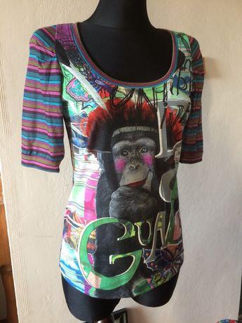 Desigual bluzka t shirt r S/M