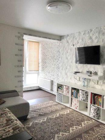 2-к с ремонтом мебелью и техникой в ЖК Фортуна
